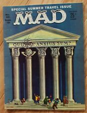 Mad Magazine September, 1961, #65; Special Summer Travel Issue