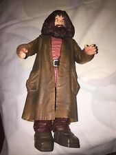 "Harry Potter Sorcerer Stone Action Figure 8 1/2"" Rubeus Hagrid Wizard 2001"