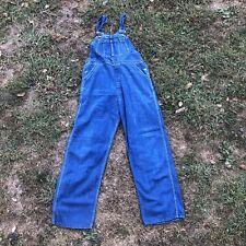 Vintage 1940s/1950s Ely Denim Overalls Coveralls Jeans Workwear Mens Medium