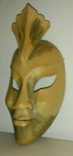 Wooden Hand-Crafted Face Mask/Wall Art