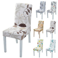Chair Stretch Banquet Washable Removable Slipcover Home Dining Chair Covers