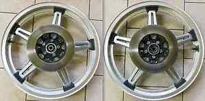 HONDA CX CB GL RUOTA ANTERIORE N 19 X MT 1.85 CON DISCHI/FRONT WHEEL WITH DISKS