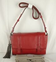 Radley Adwick Cross Across Body Bag Small Size Deep Red Leather New