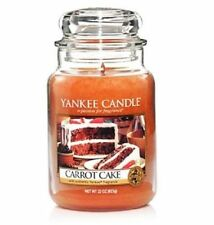 Yankee Candle CARROT CAKE 22 oz Jar Retired Bakery Scent USA DEERFIELD MS HTF