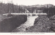 RP, The Robert Lowe Bridge Over Miles Canyon, Yukon, Canada, 1920-1940s