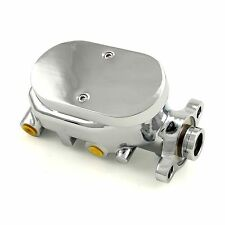 "GM Billet Aluminum Power Brake Delco Master Cylinder 1"" Bore Disc Brakes Chevy"