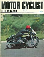 M/CYCLIST ILLUSTRATED magazine 5/69 feat. Griffon 380, BMW R60, RE Interceptor