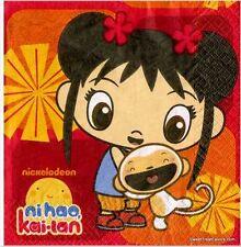 NI HAO KAI-LAN Party Supplies NAPKIN LUNCH Birthday Decoration Kailan Girl x16 *