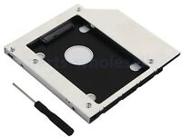 SATA 2nd HDD SSD Hard Drive Case Caddy for Universal CD / DVD-ROM Optical Drive