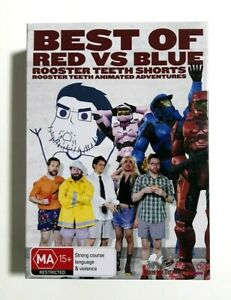 Best of Red Vs Blue - Rooster Teeth Animated Adventures Shorts RARE R4 3-DVD Set