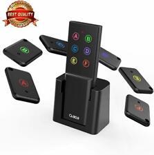 Key Finder, Mini Item Tracker Wireless Rf Locator, 80dB Sound Beep, 100ft Range
