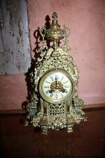 BRONZE PENDULE  Japy Freres ~ 1870 R.Wegelin Lyon Style Louis XVI XIX ème
