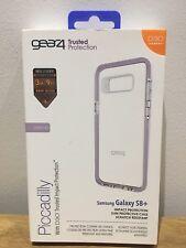Gear 4 Picadilly parachoques caso con D30 Protección para Samsung S8 + - Orquídea Plus