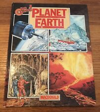 Children's Book Planet Earth Eye Openers ! Vintage Educational Picture Book