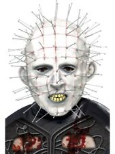 Pinhead Halloween Horror Mask Adult Mens Smiffys Fancy Dress Costume Accessory
