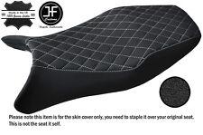 STYLE 4 WHITE ST CUSTOM FITS HONDA CBR 1100 XX SUPER BLACKBIRD VINYL SEAT COVER