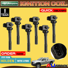 6x For Holden Rodeo TF Frontera MX Jackaroo Monterey U8 3.2 3.5L Ignition Coil