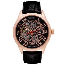 Croton Men's CI331095RGBK Automatic Open Heart Window Rose Gold Case 40mm Watch