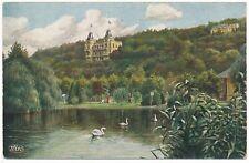 Ansichtskarte vom Kaiser-Wilhelmsweiher in Bad Neuenahr