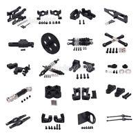 Black Alum Upgrade Parts For RC 1/12 WLtoys 12428 12423 Car DIY Parts