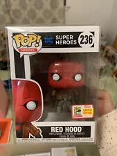 FUNKO POP RED HOOD DC COMICS 2018 SDCC COMIC CON VAULTED (MINT w/ Protector)