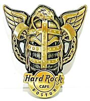 Hard Rock Cafe Boston Pin 3D Winged Skull Series 2007 HRC LE NEW # 39034