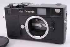2498#GC Zeiss Ikon M-Mount ZM Black 35mm Rangefinder Film Camera Excellent+