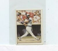 CECIL COOPER 1981 Topps Stickers #93  MILWAUKEE BREWERS