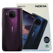 Nokia 5.4 (TRAMONTO VIOLA) 64GB + 4GB RAM 4G GSM Smartphone Sbloccato Android