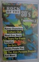 Rock Of The 80's, Volume 12 - Various Artists (1994, cassette)