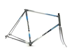 Concorde Mistral Columbus Aelle 60cm 28/700c Road Racing Bicycle Steel Frame