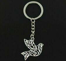 Beautiful Dove of Peace Key Chain Israel Jerusalem Christians Holyland Jewish