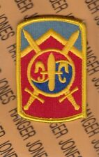 New listing Us Army 501st Sustainment Brigade shoulder patch m/e
