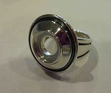 AUTHENTIC KAMELEON DOME RING JEWELPOP KR027 SIZE 9 STERLING SILVER 925 NWOT
