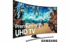 """Samsung UN55NU8500 55"""" curved Smart LED 4K Ultra HD TV with HDR"""