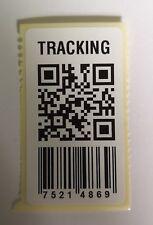 X100 etichette di rilevamento contraffatti Finti QR CODE CODICE A BARRE