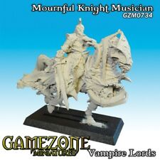 Gamezone Miniatures: Vampires Lords-Mournful Knight Musician - GZM0734