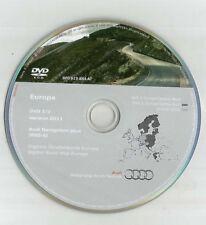 ORIGINALE AUDI RNS-E 2004-2009 Disco di navigazione DVD NAVIGATORE SATELLITARE MAPPA 2011 Regno Unito BEL fra SP