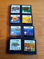 Nintendo DS GAMES Bundle, 8 Good Games,  Carts Only, Animal Crossing,Tested LooK