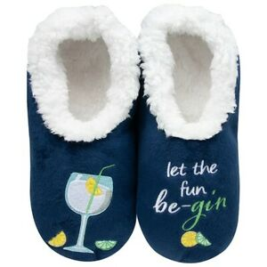 Snoozies  cosy feet coverings Style pairables Fun Be-Gin  Colour Blue New