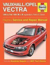 HAYNES VAUXHALL OPEL/VECTRA 95-FEB 99 N TO S REG SERVICE AND REPAIR MANUAL