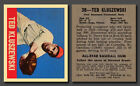 Ted Kluszewski Reprint, #38 from Leaf Baseball 1948-49, in Mint condition