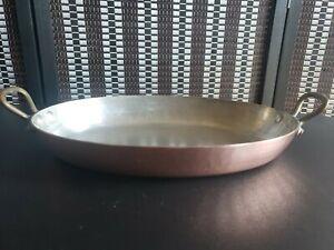 Vintage Hammered Copper au Gratin Pan MADE IN FRANCE