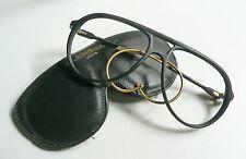 Lozza Goldblack montatura per occhiali vintage 1980's