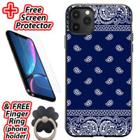 RED BANDANA SPR iPhone 6//6S 7 8 Plus X//XS XR 11 12 Pro Max Mini Case Cover