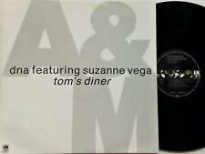 "DNA Featuring Suzanne Vega - Tom's Diner 12"" Single 1990 1st UK Press A&M EX+"