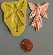 Fairy silicone mould - cake decorating, fimo, craft, magical