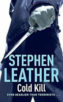 Stephen Leather, COLD KILL (The 3rd Spider Shepherd Thriller), Very Good, Mass M