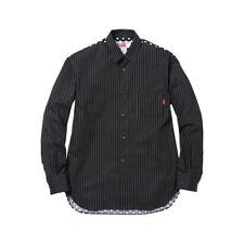 Supreme COMME des GARCONS Button Shirt CDG Pinstipe Polka SS14 Dot L/S    Medium