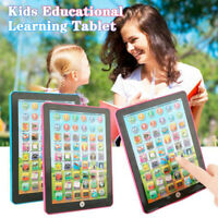 Kids Children Laptop Tablet Pad Educational Learning Toy Gift For Kid Baby Tool